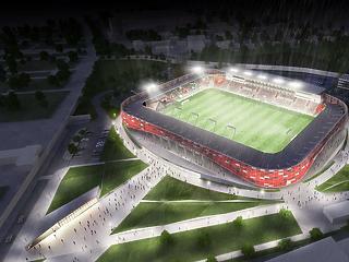 Duplájára drágult az új Bozsik Stadion, 11,7 milliárdból építik meg