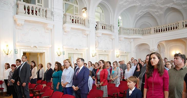 A Nagycsaládosok Országos Egyesületének közgyűlése és díjátadó ünnepsége - Fotó: Nagycsaládosok Országos Egyesülete / Facebook