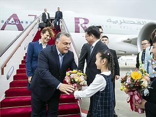 Orbán Kínában: Magyarország Európa növekedési motorja