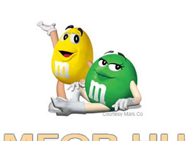 M&M csokigolyó