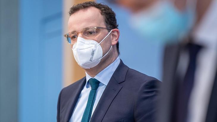 Jens Spahn német egészségügyi miniszter. Fotó: zdf.de