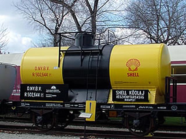 DNyBV R 502644 magánvasúti tartálykocsi