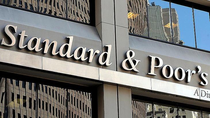 A Standard & Poor's New York-i székháza (Fotó: MTI/EPA)