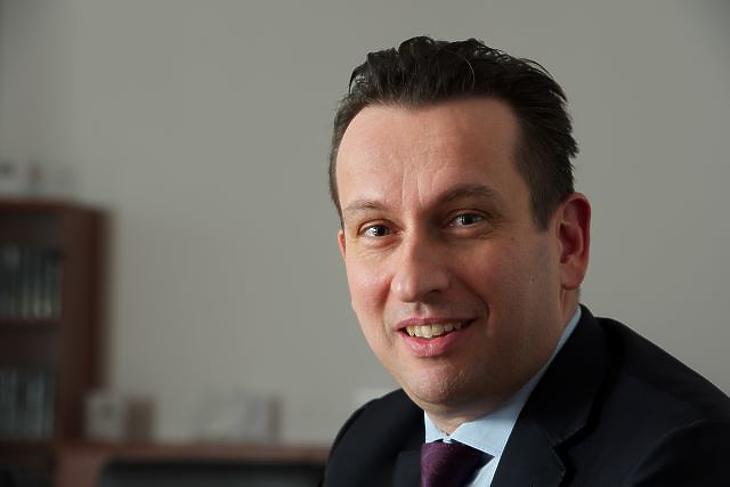 Kurali Zoltán, az Államadósság Kezelő Központ vezérigazgatója. Fotók: Bánkuti András