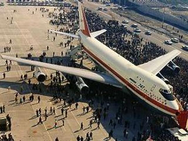 A Jumbo Jet