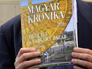 Nincs tőkéje Kerényi Magyar Krónikájának