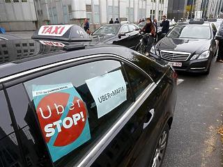 A brüsszeli taxisok is beleszálltak az Uberbe