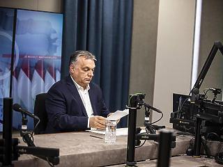 Szűkszavú volt ma Orbán Viktor a Pegasus-üggyel kapcsolatban