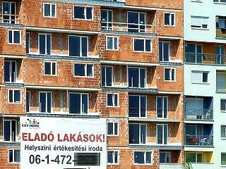 Megugrott az új lakások építése, Budapest az éllovas