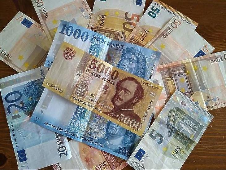 Egyre drágább az euró