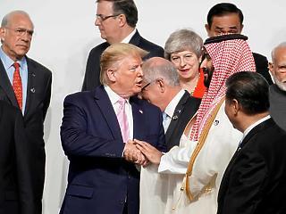 Trump igyekezett megfúrni a G20 zárónyilatkozatát, de végül meghátrált