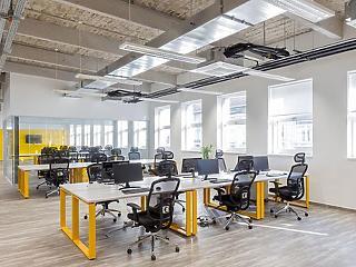 A kkv-knak is jár a korszerű iroda, és vásárolhatnak is, mert van hozzá forrás