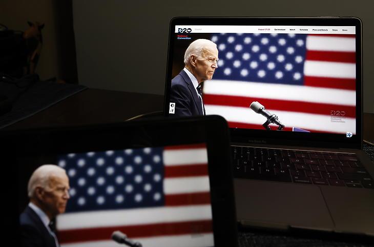 Joe Biden (Fotó: EPA/JASON SZENES)