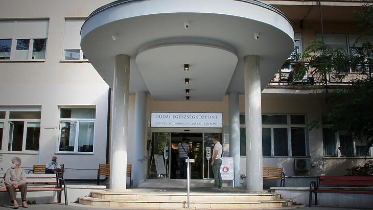 A Budai Egészségközpont épülete (Forrás: Budai Egészségközpont)