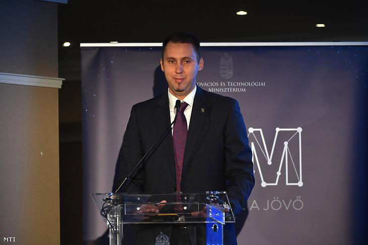 Virág Barnabás, a Magyar Nemzeti Bank új alelnöke. Fotó: MTI