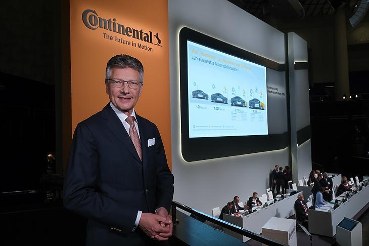 Dr. Elmar Degenhart (Fotó: Continental)