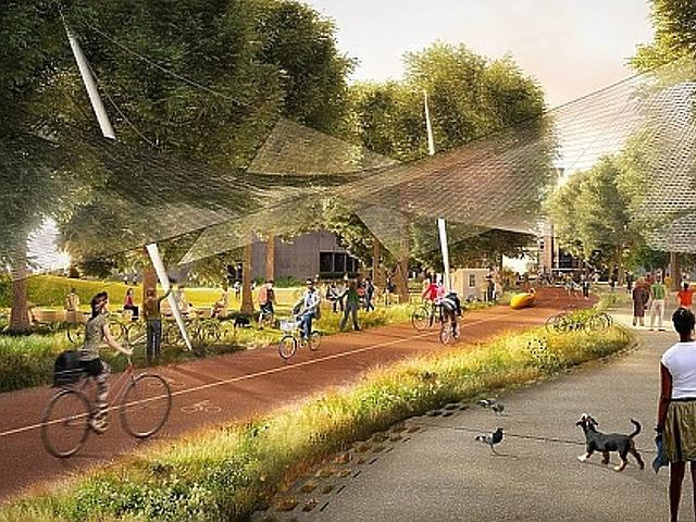 Ilyen futurisztikus központot épít a Google! Dolgozna itt?