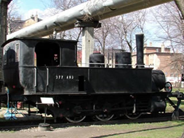 Szertartályos mellékvonali mozdony