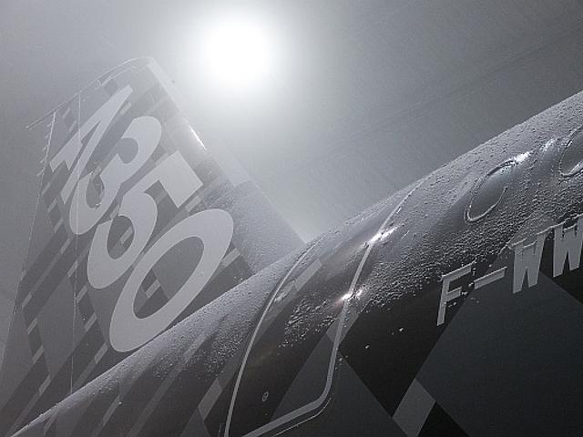Csodás fotók az Airbus repülőgépéről!