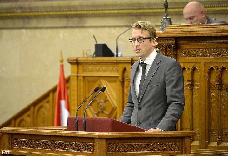 Kecsmár Krisztián (Fotó: MTI)