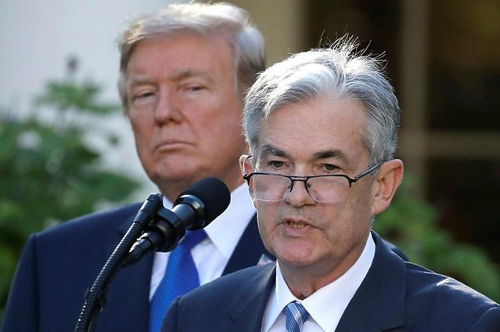 Powell, a Fed elnöke ismét lépett