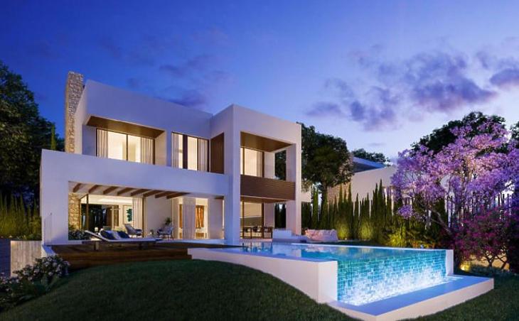 Illusztráció - Egy ilyen marbellai villa 2-3 millió eurót kóstál (Forrás: Idealista.com)