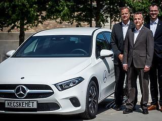 Rekordév a magyar Mercedesnél