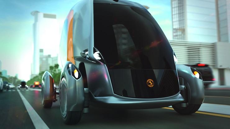 A BEE egy teljesen összekapcsolt autonóm jármű