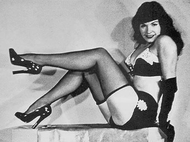 10. Bettie Page