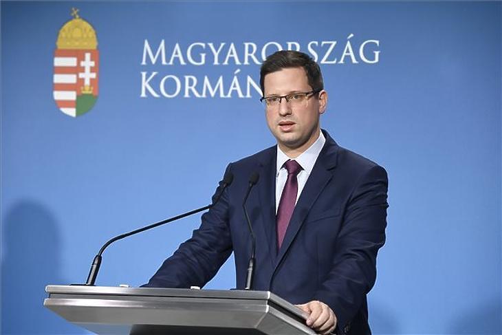 Gulyás Gergely. (Fotó: MTI/Koszticsák Szilárd)