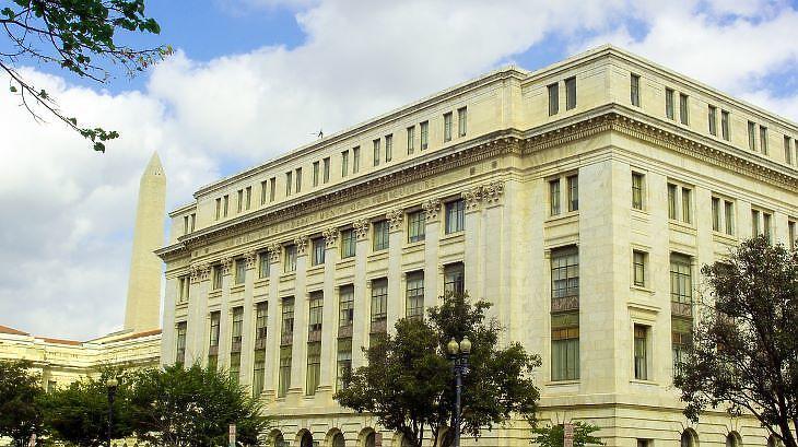 Az amerikai mezőgazdasági minisztérium egyik épülete (forrás: pixabay.com)