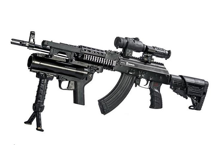 A felújított, AK-63MA gépkarabély