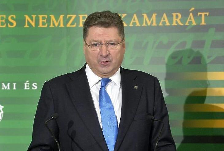 Parragh László (Fotó: Koszticsák Szilárd/MTI)