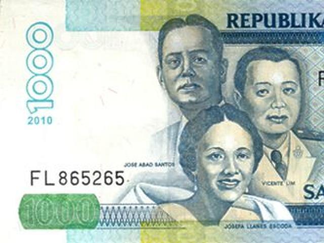 1000 peso - Fülöp-szigetek