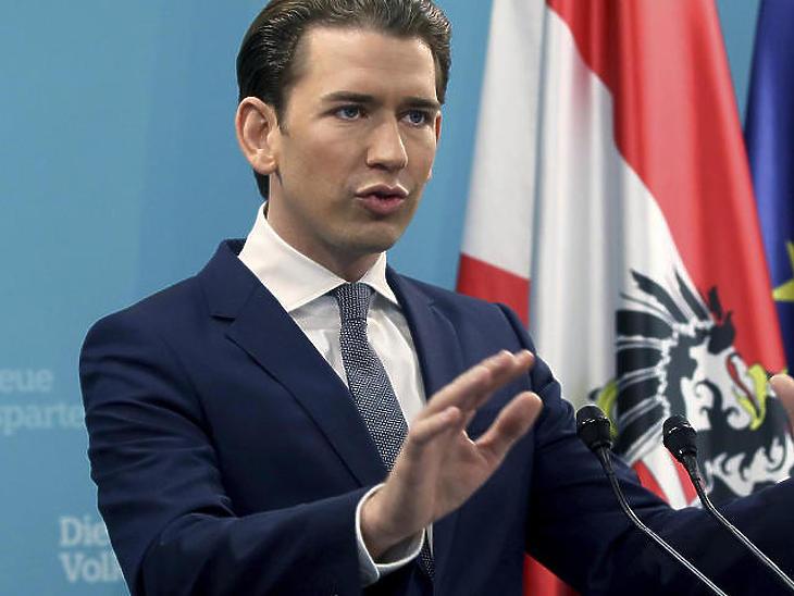 Sebastian Kurz (Fotó: MTI/AP)