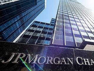 69 százalékkal esett a JP Morgan Chase negyedéves nyeresége