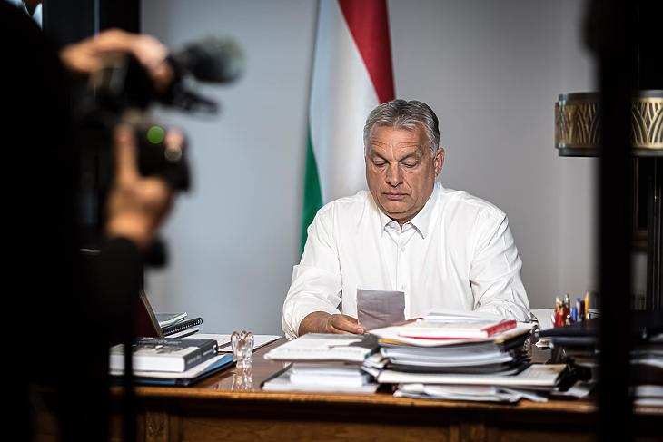 Orbán Viktor (Fotó: Facebook)