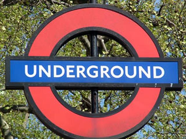 A londoni metró jelképe