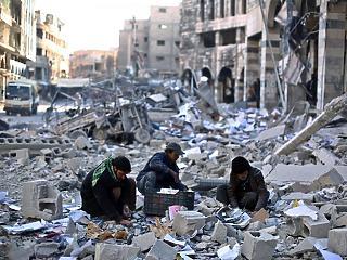 1 milliárd eurót küldene Németország a szétlőtt Szírába