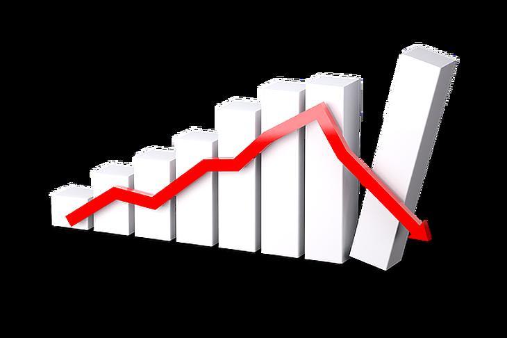 Variációk gazdasági visszaesésre. Fotó: Pixabay