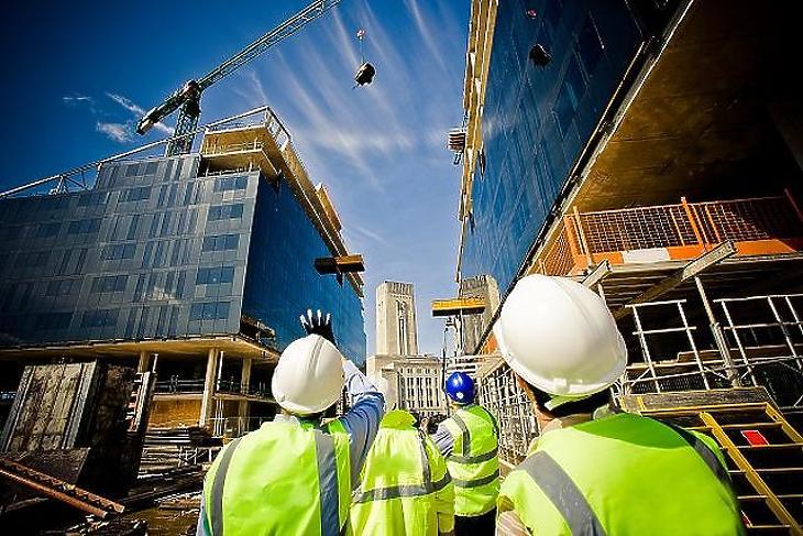 Az építőipar kivétel, kezd magára találni (fotó: pixabay.com)