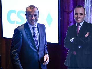 Újraválasztották Manfred Webert