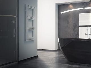 Nagy divat a fekete szín a fürdőszobában