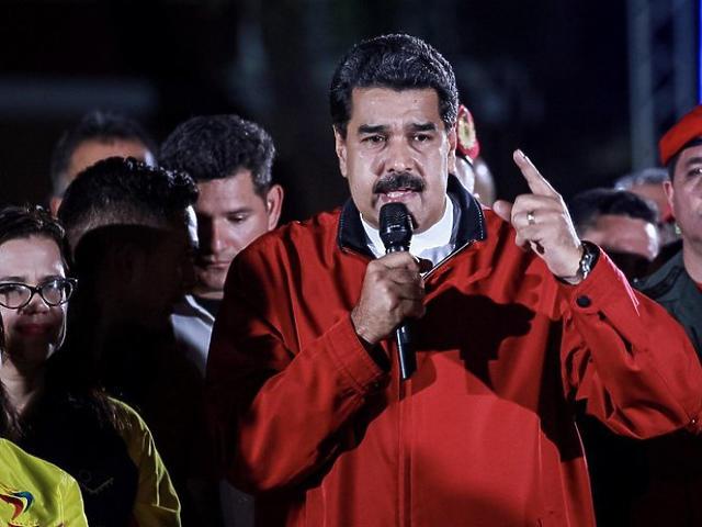 Nicolas Maduro (Fotó: MTI)