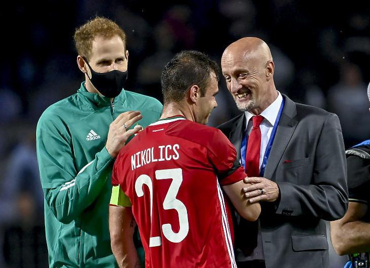 A portugál meccs végén is lesz minek örülni? (Fotó: MTI/Kovács Tamás )