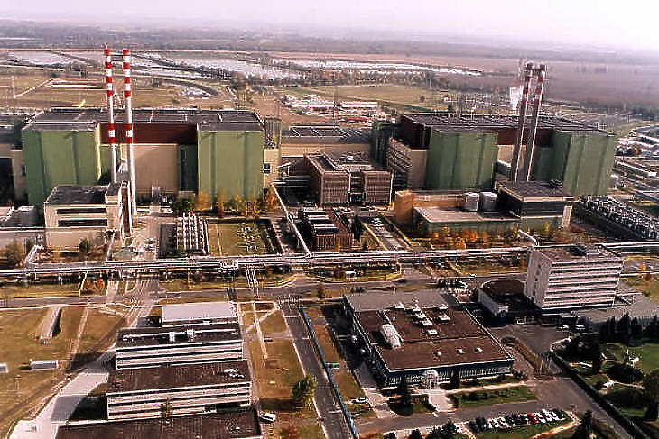 A Paksi Atomerőmű területe