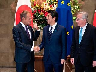 Aláírták az EU-Japán szabadkereskedelmi egyezményt
