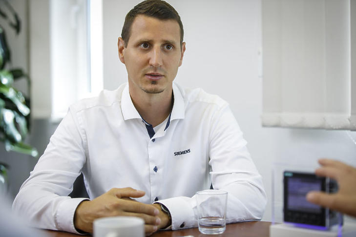 Reményi Szabolcs, a Siemens Zrt. Technical Engineer szakembere szerint fontos, hogy az érintett vállalati menedzsment, a karbantartás látja-e a mérések hasznát.