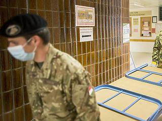 Visszatértek a katonák a kórházakba