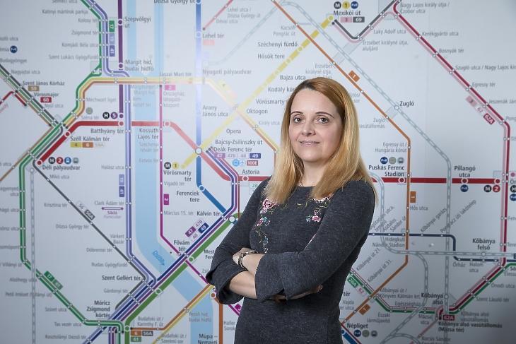 Varga Ivett, a Budapesti Közlekedési Központ (BKK) május 5-én menesztett vezérigazgatója 2020. március 4-én a BKK fővárosi irodaházában. MTI/Mohai Balázs